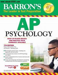 Barron U0026 39 S Ap Psychology  7th Edition