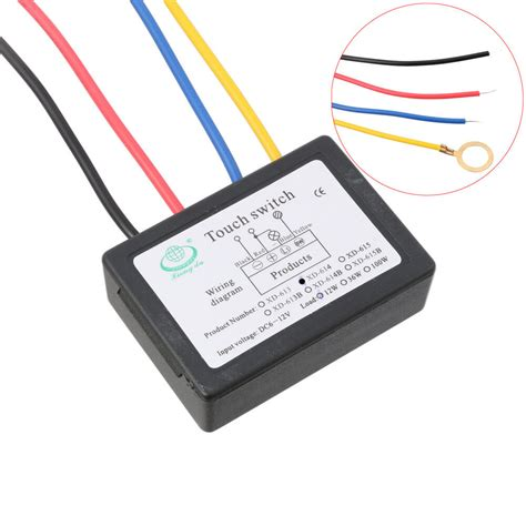 touch dimmer led led touch dimmer switch sensor l accesories dc 6 12v ebay