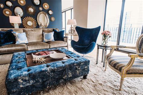 cool   design  blue velvet furniture hgtvs