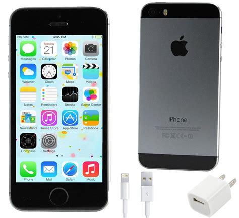 talk iphone 5s verizon new sealed apple iphone 5s 16gb 4g lte talk