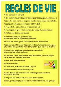 Regle De Vie A La Maison : les r gles de vie du service jeunesse ducation ~ Dailycaller-alerts.com Idées de Décoration