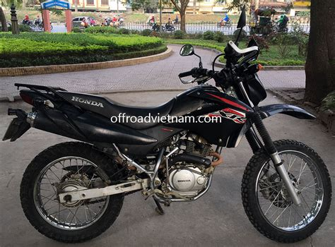rent motocross bike uk honda honda xr125 150 150cc hire in hanoi offroad