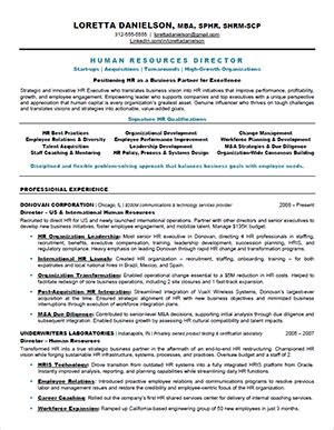 Hr Resume by How To Write Powerful And Memorable Hr Resumes Human