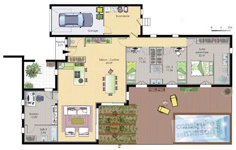 isolation phonique entre 2 chambres maison de plain pied 6 dé du plan de maison de plain