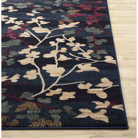 world rug gallery loft navy area rug reviews wayfair