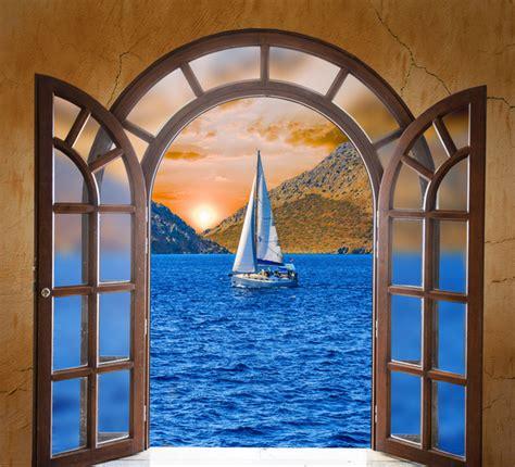 Open Door Backgrounds Stock Photo 06