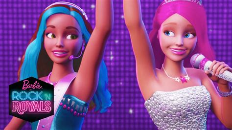 Barbie In Rock N Royals Official Trailer Barbie Youtube