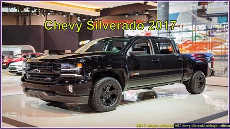 2017 Midnight Edition Silverado by 2017 Silverado Midnight Edition Motavera