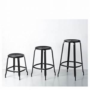 Tabouret De Bar Hauteur 65 Cm : tabouret bar hauteur assise 60 cm design en image ~ Teatrodelosmanantiales.com Idées de Décoration