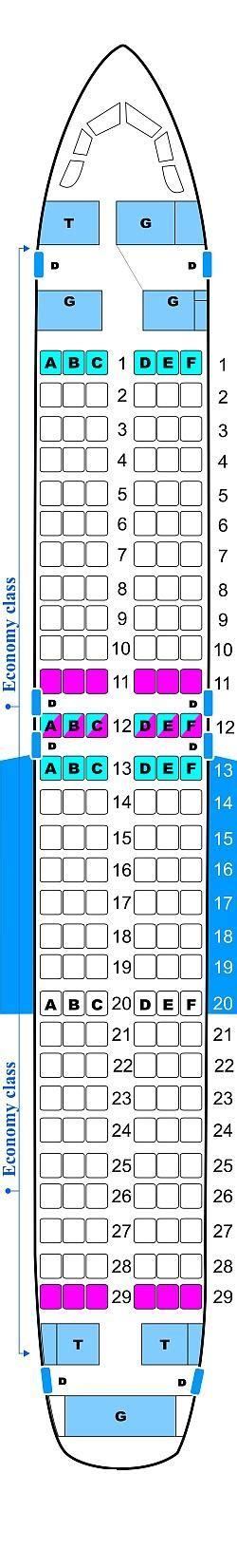 plan des sieges airbus a320 plan de cabine hello airlines airbus a320 214 seatmaestro fr