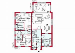 Haus Mit Einliegerwohnung Grundriss : einfamilienhaus mit einliegerwohnung gse haus ~ Lizthompson.info Haus und Dekorationen