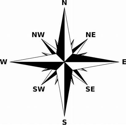 Compass Rose Clipart Map Svg Transparent Directions