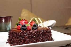 Chocolate Cake With Fresh Fruit stock photos - FreeImages.com