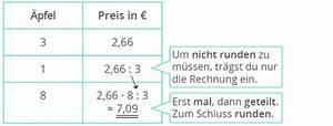 Dreisatz Berechnen : berechnen von prportionalen zuordnungen mit dem dreisatz ~ Themetempest.com Abrechnung