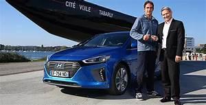 Hyundai Cognac : le skippeur morgan lagravi re ambassadeur hyundai ioniq ~ Gottalentnigeria.com Avis de Voitures