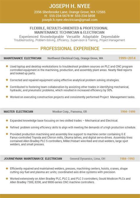 standard resume format 2016 6 by herlorg