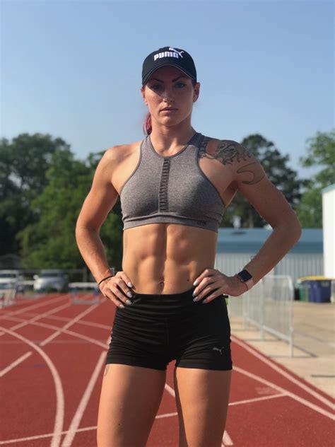 pole vaulter anicka newell talks  olympics fitness
