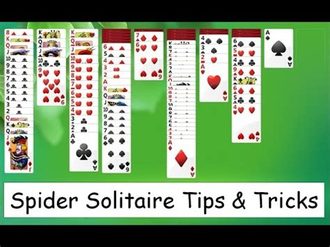Two Suit Spider Solitaire Strategy by Microsoft Solitaire Collection Spider