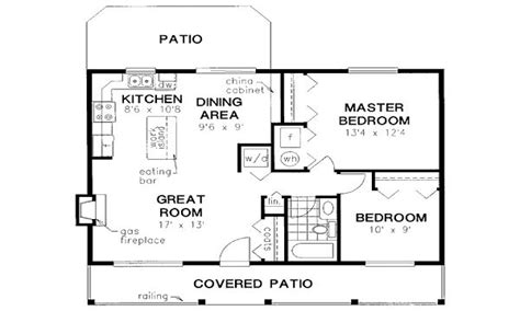 square feet house floor plans  square feet