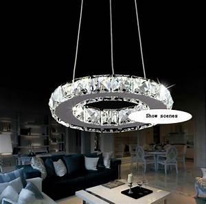 Led Kronleuchter Modern : silber kristall ring gef hrt kronleuchter kristall lampe licht leuchte modern led kreis licht in ~ Eleganceandgraceweddings.com Haus und Dekorationen