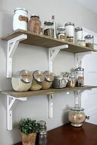 Etagere De Rangement Cuisine : le rangement mural comment organiser bien la cuisine ~ Premium-room.com Idées de Décoration