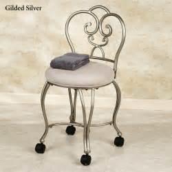 rolling vanity stool homesfeed