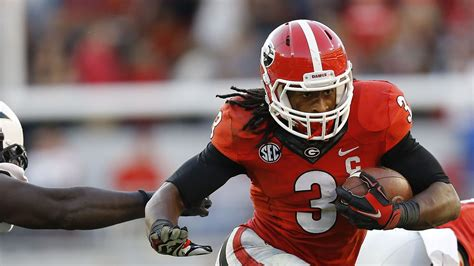 georgia rb todd gurleys suspension  reportedly
