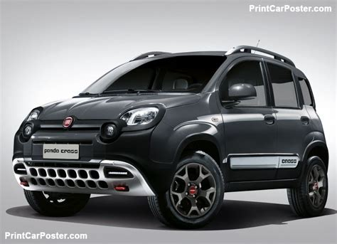 When Was Fiat Founded by Fiat Panda Cross 2017 Poster Fiat Panda