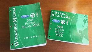 2008 Ford Fusion  Milan  Mkz Workshop Manual Vol 1 Only