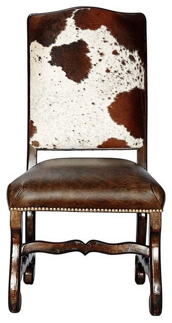 Cowhide Dining Room Chairs by Classic Cowhide Chair Set Of 4 Southwestern Dining
