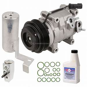 2015 Chrysler Town And Country A  C Compressor And