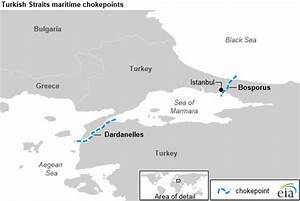 Crude Oil Supply Chart The Danish And Turkish Straits Are Critical To Europe S