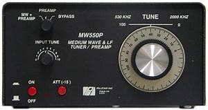 Palstar Mw550p Tuner Preselector Amplifier