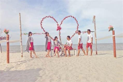 pantai romantis romance bay wisata terindah  sumut