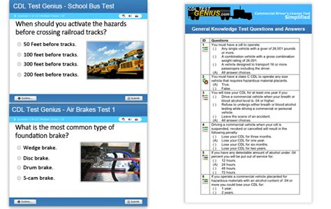 Utah Cdl Practice Tests & Test Answers