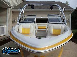 2009 Tahoe Q5i Ski Boat Tower Airborne Tower Speakers And