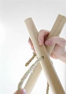 Fabriquer Tipi Enfant : fabriquer un tipi pour enfant projet facile faire soi m me tipi pour enfant fait maison ~ Voncanada.com Idées de Décoration