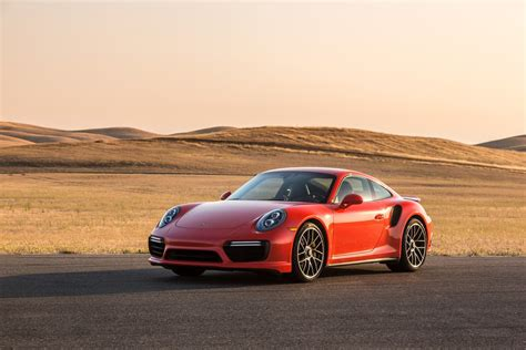 The 2017 Porsche 911 Turbo S Is Motor Trend's Hardest