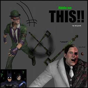 Riddle me this. by dnxpunk on DeviantArt