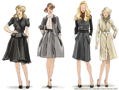 The Art of Anand Duncan Fashion Illustration