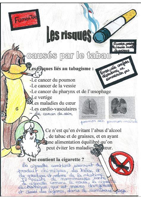 affiche ne pas d anger pour bureau les dangers du tabac travaux d 39 élèves kidi 39 science