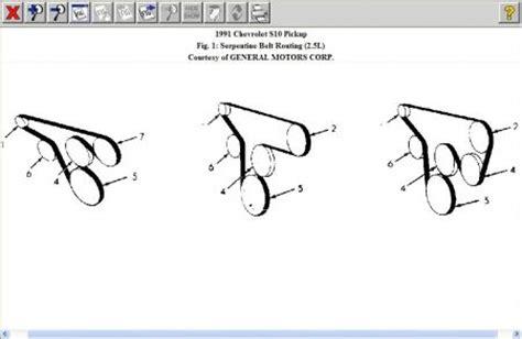 Chevy Truck Serpentine Belt Need Find Diagram