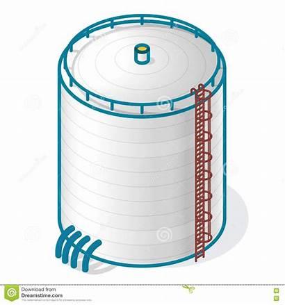 Tank Water Treatment Plant Symbol Clipart Clip