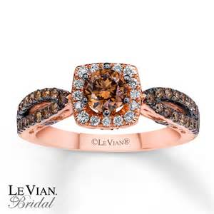 chocolate diamonds wedding rings le vian bridal chocolate diamonds 14k gold engagement ring