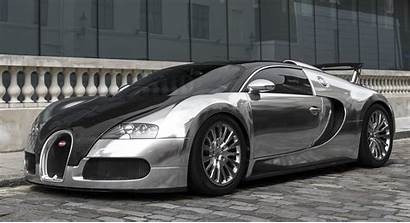 Bugatti Veyron Chrome Carbon Cars Sweet Carscoops
