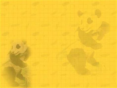 panda  powerpoint templates