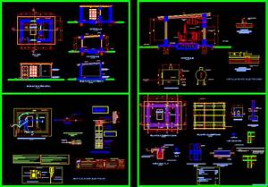 Booth Generator Set In Autocad