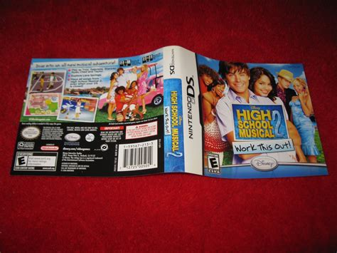 High School Musical 2 Work It Out Nintendo Ds Video Game