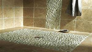 deco mur salle de bain pas cher With carrelage adhesif salle de bain avec spot de terrasse led
