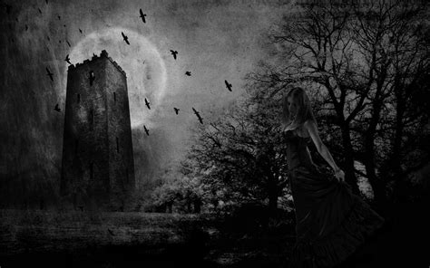 Lord Of The Rings Walpapers Gothic Art Wallpaper